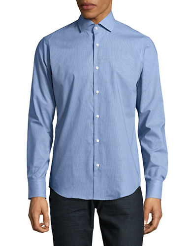 Hugo C-Gordon Regular-Fit Sport Shirt-BLUE-EU 42/US 16.5