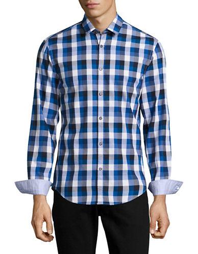 Boss Green C-Bence Regular-Fit Sport Shirt-BLUE-X-Large