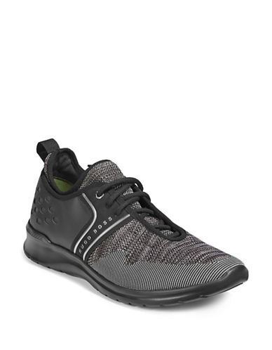 Boss Green Extreme Runn Sneakers-DARK GREY-10