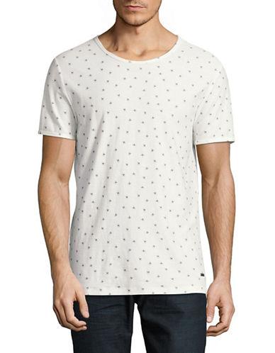 Boss Orange Toughts Rock Printed T-Shirt-NATURAL-Large