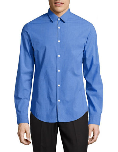 Boss Green C-Bence Regular-Fit Sport Shirt-BLUE-Small