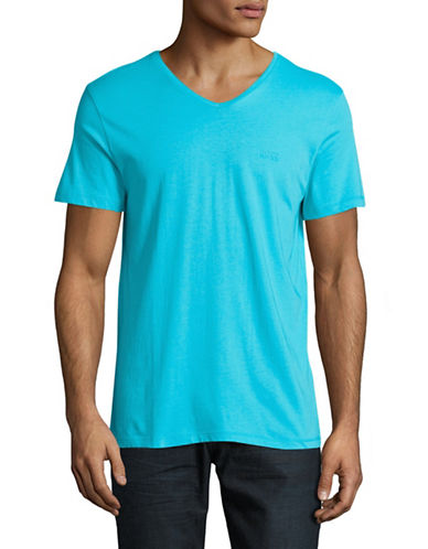 Boss Green C-Canistro Slim-Fit T-Shirt-LIGHT BLUE-Medium