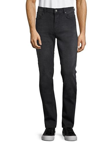 Boss Orange Orange63 Slim Tapered Fit Jeans-BLACK-33X34