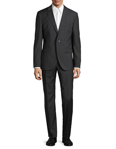 Hugo C-Jeffery Two-Piece Wool Suit-GREY-44