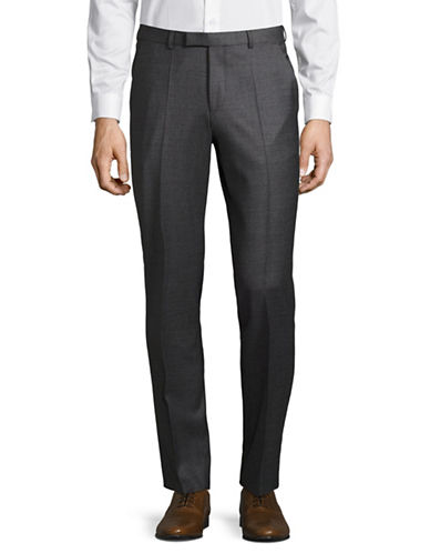 Hugo Shark Straight Trousers-MEDIUM GREY-30