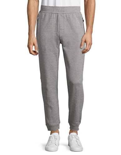 Boss Long Jogger Pants-GREY-Large