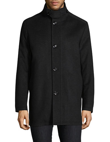Boss Green C-Coxtan Wool-Cashmere Coat-CHARCOAL-40