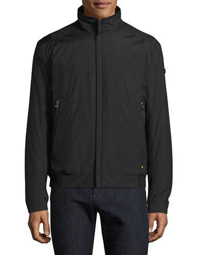 Boss Green Jakes Bomber Jacket-BLACK-Small