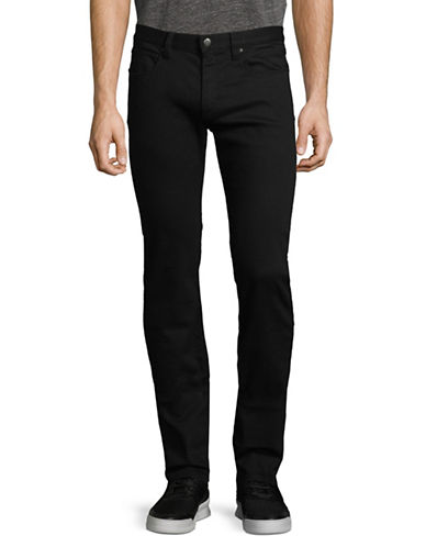 Hugo Straight-Leg Skinny Jeans-BLACK-31X34