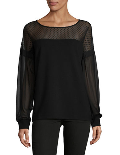 Hugo Disann Blouse-BLACK-Large