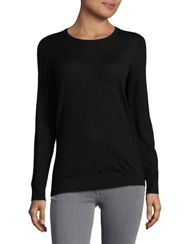 Hugo Sedella Virgin Wool Sweater-BLACK-X-Large
