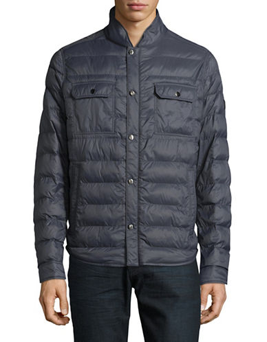 Boss Orange Orin Quilted Jacket-NAVY-44