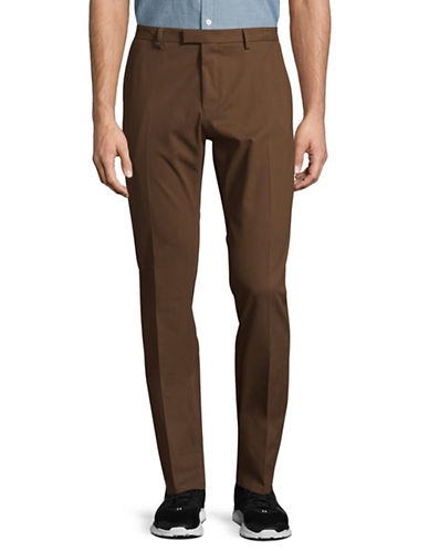 Hugo Helgo2 Twill Pants-BROWN-40