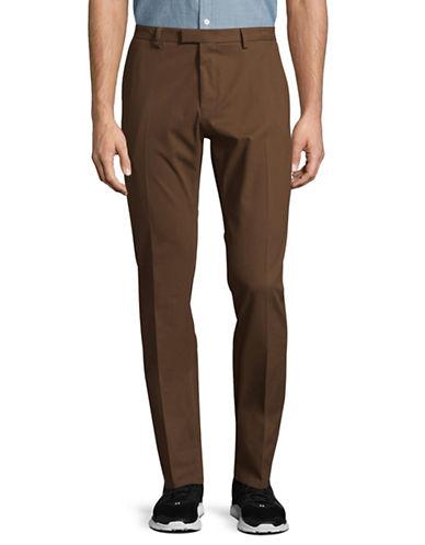 Hugo Helgo2 Twill Pants-BROWN-32