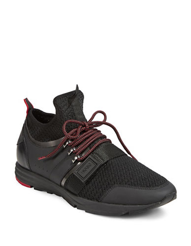 Hugo Mens Hybrid Sneakers-BLACK-7