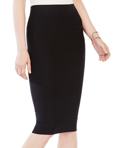 Bcbg Maxazria Alexa Slim-Fit Pencil Skirt-BLACK-Small