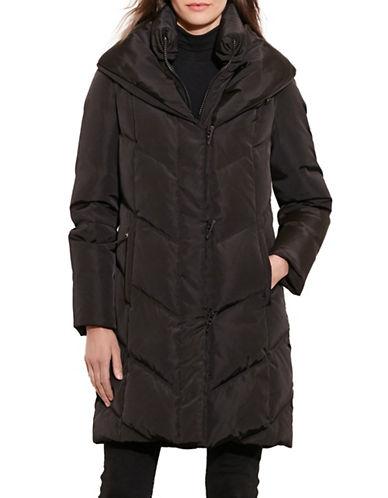 Lauren Ralph Lauren Quilted Toggle Coat-BLACK-Large 88449106_BLACK_Large