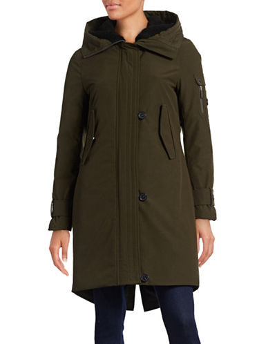 French Connection Heavy Duty Snorkel Parka-GREEN-Small 88396092_GREEN_Small