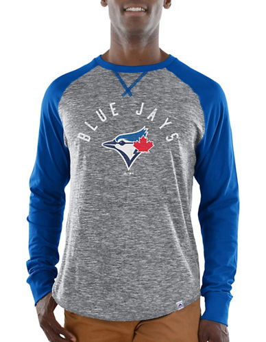 Majestic Toronto Blue Jays Tee-BLUE-Medium