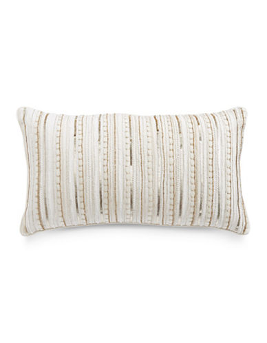 Hotel Collection Diamond Embroidery Cushion-WHITE-One Size