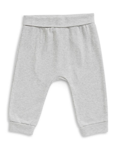 First Impressions Circle Yoga Jogger Pants-GREY-0-3 Months