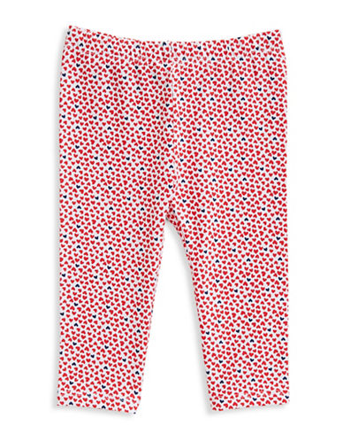 First Impressions Multi-Heart Leggings-LOLLIPOP RED-6-9 Months