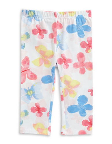First Impressions Butterfly-Print Leggings-BRIGHT WHITE-3-6 Months