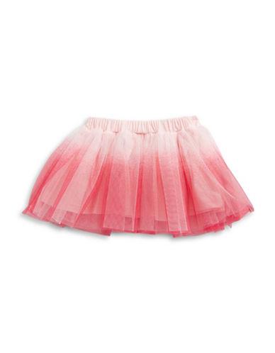 First Impressions Dip Dye Tutu Skirt-PINK-6-9 Months