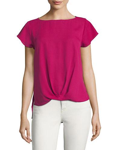 I.N.C International Concepts Twist-Front Top-PINK-Medium 89823072_PINK_Medium