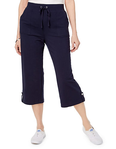 Karen Scott French Terry Capri Pants 89983828