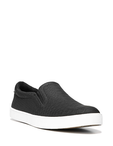 Dr. Scholls Madison Round Toe Sneakers-BLACK-6