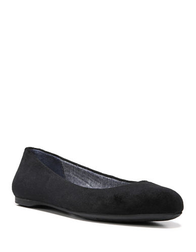 Dr. Scholls Giorgie Ballet Flats-BLACK-9.5