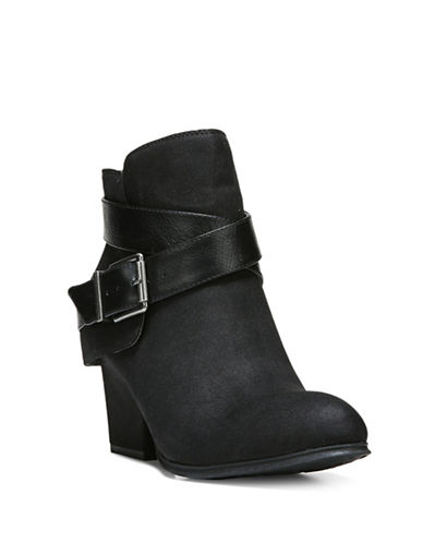 Lifestride Wendy Ankle Booties-BLACK-8.5