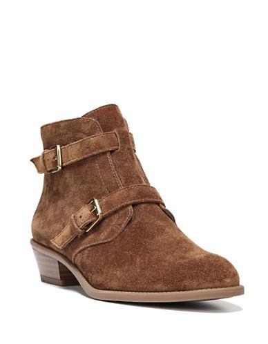 Franco Sarto Rynn Suede Boots-COGNAC-7.5