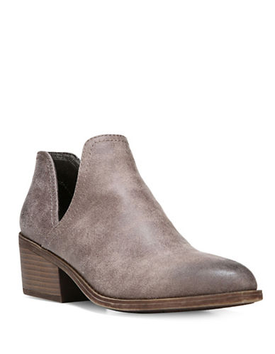Fergalicious Westin Cut-Out Booties-GREY-8.5