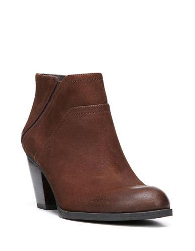 Franco Sarto Domino Leather Booties-COGNAC-7