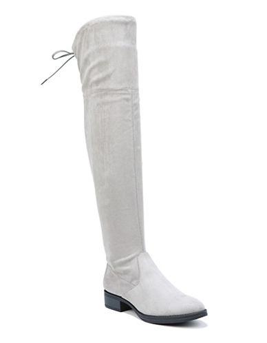 Circus By Sam Edelman Peyton Microsuede Knee-High Boots-GREY-7.5