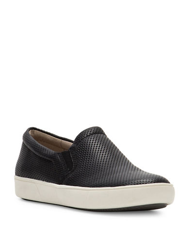 Naturalizer Marianne Leather Sneakers-BLACK-6.5