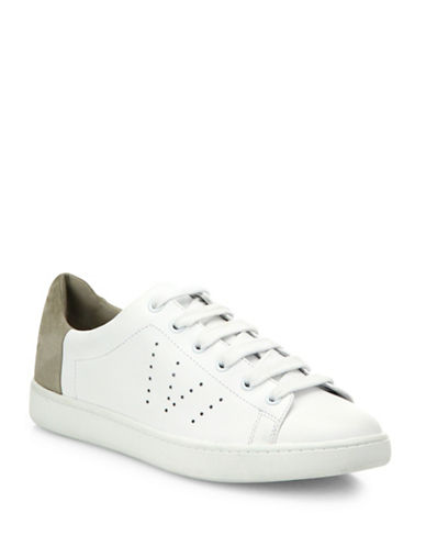 Vince Varin Leather Sneakers-WHITE-9