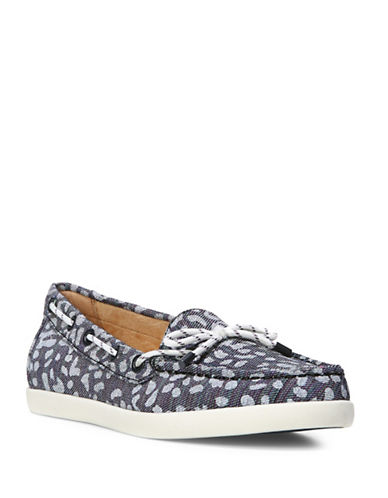 Naturalizer Ginnie Boat Shoes-LEOPARD-7.5