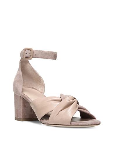 Diane Von Furstenberg Pasedena Knotted Sandals-POWDER-6