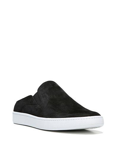 Vince Verrell Suede Platform Sneakers-BLACK-6