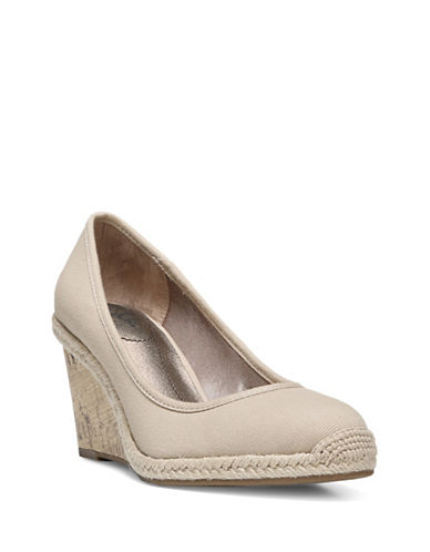 Lifestride Listed Woven Espadrille Wedge Shoes-NATURAL-7