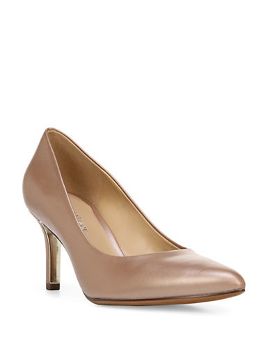 Naturalizer Natalie N5 Contour Tailored Pumps-LIGHT BROWN-7.5