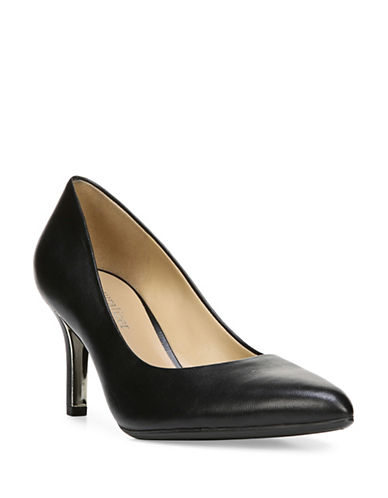 Naturalizer Natalie N5 Contour Tailored Pumps-BLACK-9.5