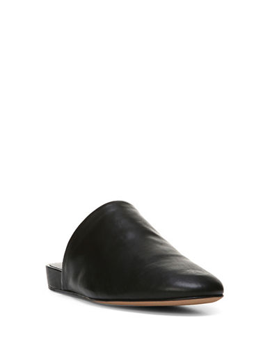 Vince Oren Leather Mules-BLACK-8