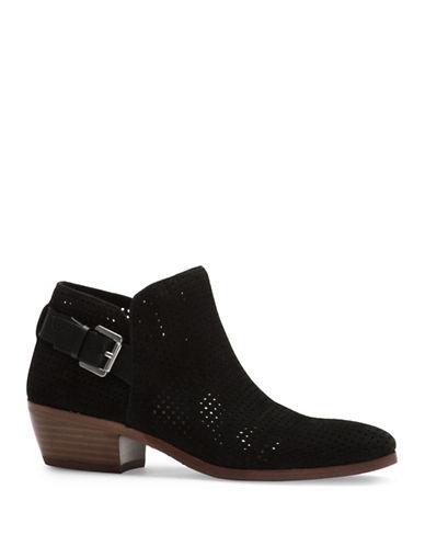 Sam Edelman Paula Perforated Ankle Boots-BLACK-7