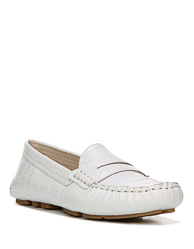 Sam Edelman Filly Leather Penny Loafers-WHITE-7