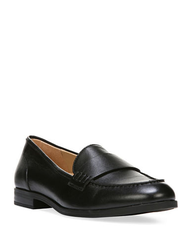 Naturalizer Veronica N5 Contour Tailored Moc Loafers-BLACK-9
