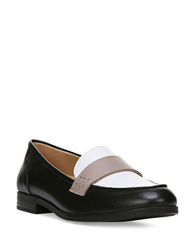 Naturalizer Veronica N5 Contour Tailored Moc Loafers-BLACK MULTI-7